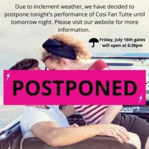 Brott Music- postponed show
