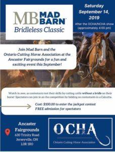 Cutting Horse Show @ Ancaster Fairgrounds | Hamilton | Ontario | Canada