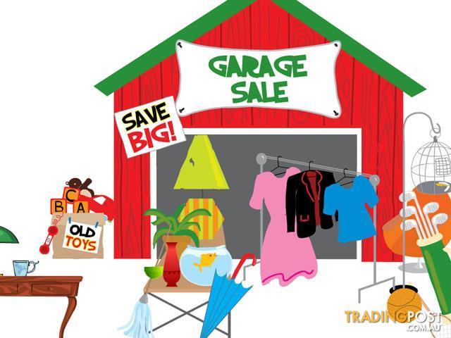Homecraft Garage Sale- Saturday, March 21, 2020
