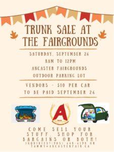 Car Boot Sale @ Ancaster Fairgrounds | Hamilton | Ontario | Canada